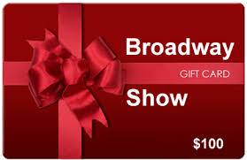 broadway show tickets gift certificates and broadway gift cards