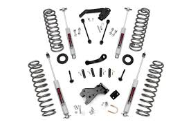 4in suspension lift kit for 07 17 jeep jk wrangler unlimited 681s