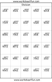 3 grade division worksheets worksheets