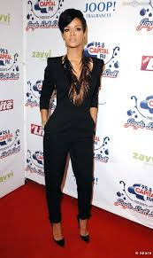 rihanna jumpsuit rihanna black jumpsuit the fashion tag