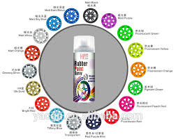 400ml nice car paint colors rubberized paint peelable made in