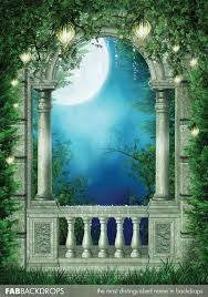 castle backdrop drops enchanted castle window backdrop