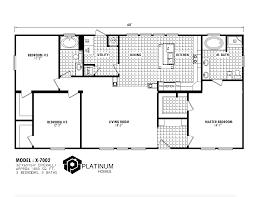 Jefferson Floor Plan by The Jefferson X 7002 Platinum Homes