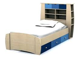 single bed bookcase headboard l buy single bed with bookcase