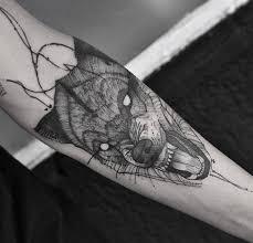 Forearm Wolf - 40 amazing wolf designs and ideas tattoobloq