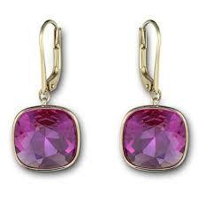 sheena pierced earrings swarovski sheena pierced earrings from borsheims gifts