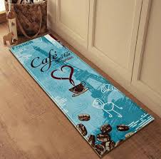 Teal Kitchen Rugs Decorating Magnificent Aqua Kitchen Rug Popular Foam Floor Mats