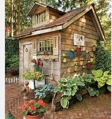 Small Backyard Shed Ideas 324 Best Garden Shed Ideas Images On Pinterest Potting Benches