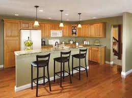 what paint color goes best with hickory cabinets best black kitchen cabinets design ideas frugal living