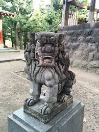 lion dog statue free photo guardian lion dog at shinto shrine guardian dogs max