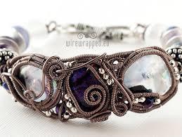 wire jewelry bracelet images Wire wrapped winter bracelet wirewrapped eu jpg