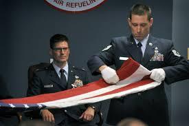 Flag Folding Ceremony Photo Review January Drill U003e 916th Air Refueling Wing U003e Article