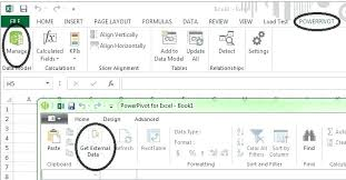 tutorial pivot table excel 2013 power pivot excel 2013 for excel dialog externaldata power pivot