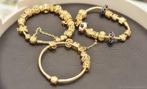 bracelet pandora gold images Pandora bracelets jpg