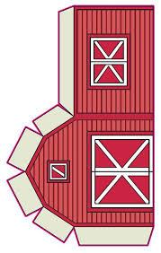best photos of barn template printable free printable barn