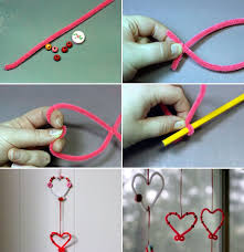 Window Decorations For Valentine S Day by Valentines Day Crafts Kids Easy Home Decor Garlands Pipe Cleaners