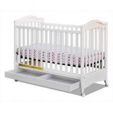 White Convertible Crib With Drawer Crib With Storage Drawer Foter