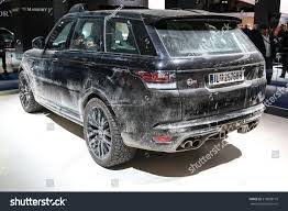 land rover spectre frankfurt sept 16 land rover range stock photo 318808718