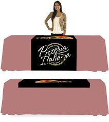 trade show table runner trade show cloth table runner franchise print shop