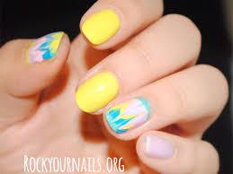 dry marble drag nail art mani tutorial rockyournails