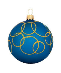Glass Christmas Tree Ornament - glass christmas ornaments oreol christmas ball blue