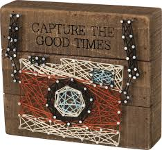 string art camera everyday primitives by kathy