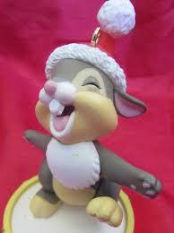grolier disney christmas ornament thumper bambi woods rabbit bunny