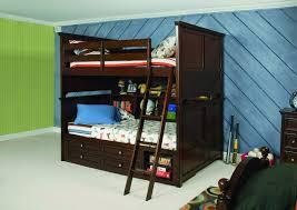 Bunk Bed With Stairs And Drawers Bunk Beds Twin Over Full With Storage Kids Rustic Bunk Beds