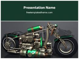 get this free concept speed motorcycle powerpoint template
