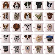 Cute Dog Products by Cute Dog Pattern Pillow Case