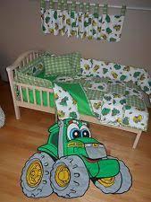 Tractor Crib Bedding Deere Nursery Bedding Ebay