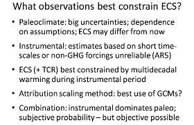 pitfalls in climate sensitivity estimation part 1 climate audit