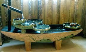 table top water fall indoor outdoor tabletop garden waterfall fountain big cross massage