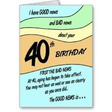 funny 40th birthday clipart 32