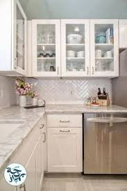 white kitchen kitchen decor subway tile herringbone subway tile