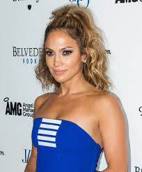 a high textured ponytail by j lo stylenoted