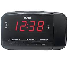 Clock That Shines Time On Ceiling by Buy Bush Projection Alarm Clock At Argos Co Uk Your Online Shop