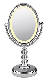 conair two sided makeup mirror with 4 light settings amazon com conair double sided lighted makeup mirror lighted