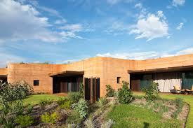 Earth Homes by 12 Stunning Zigzag Homes Hide Behind Australia U0027s Longest Rammed