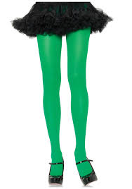 green halloween stockings
