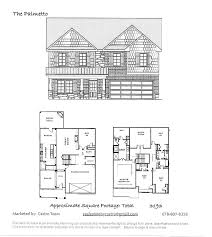 floor plans robinson builders of north east ga kelly mill meadows options