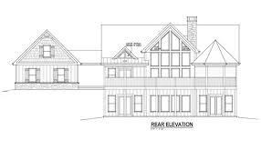 One Story House Plans With Basement Open Living Floor Plan Lake House Design With Walkout Basement