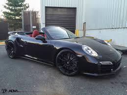 Porsche 991 Turbo S Adv6 2 M V2 Cs Concave Wheels Gloss Black