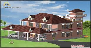 House Plans 2500 Square Feet by 3 House Elevations Over 2500 Sq Ft Kerala Home Design And Floor