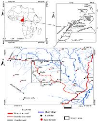 Cameroon Africa Map by Physico Chemical Analysis Of Water Quality Of Springs In Bafia