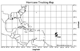 hurricane tracking enchantedlearning com