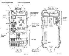 mitsubishi mirage wiring diagram and schematics 99