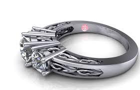 rings large stones images Buchkosky jewelers three stone custom design jpg