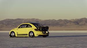 modified volkswagen beetle modified vw beetle with 543 hp reaches 205 mph at bonneville