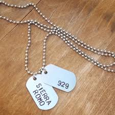 Custom Dog Tag Necklace Skyla Rose Dog Tag Necklace Skyla Rose Jewelry For All Your